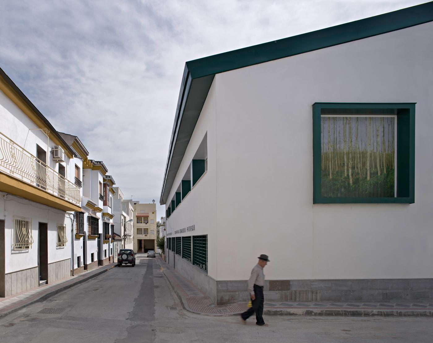 El centro intergeneracional de atarfe en arquitectura - Arquitectos de granada ...